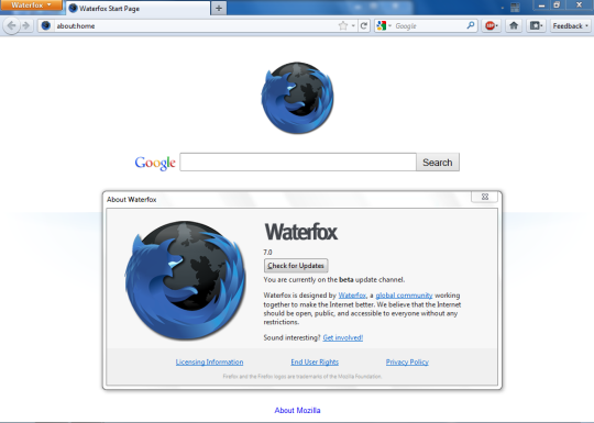 Waterfox (64-Bit)