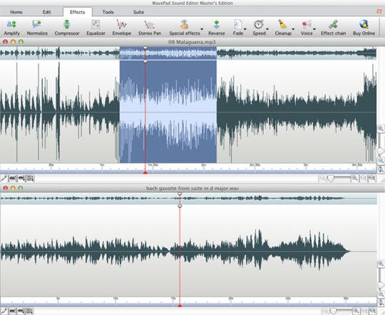 Wavepad Free Audio Editor