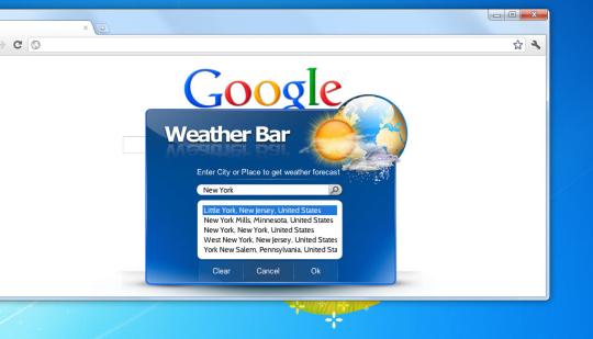 Weather Neobar