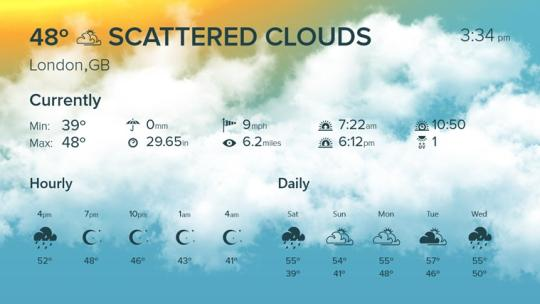 WeatherFlow for Windows 8