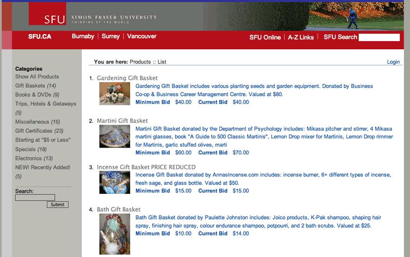 Web Auction