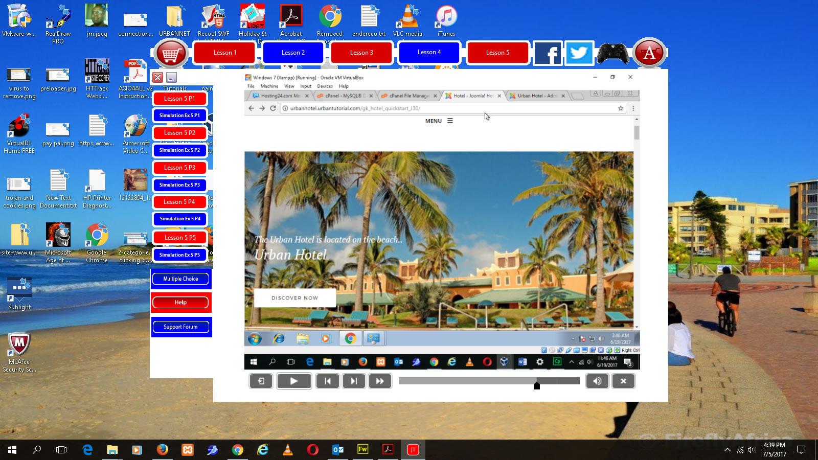 Web Design - Joomla 3x Tutorial