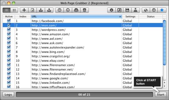 Web Page Grabber