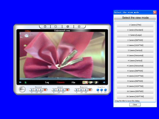 Webcam Internet Browser Monitor