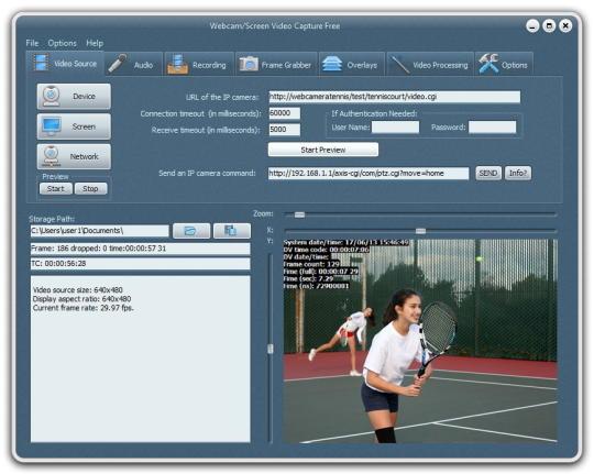 Webcam Screen Video Capture Free
