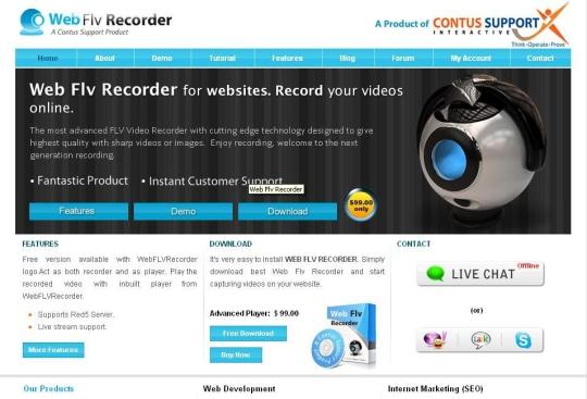 WebFLVRecorder