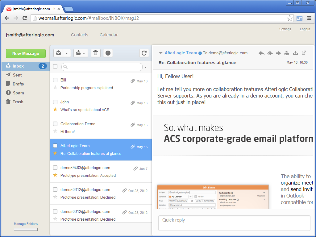 WebMail Pro PHP