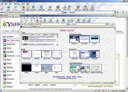 WebSpirit Internet Browser