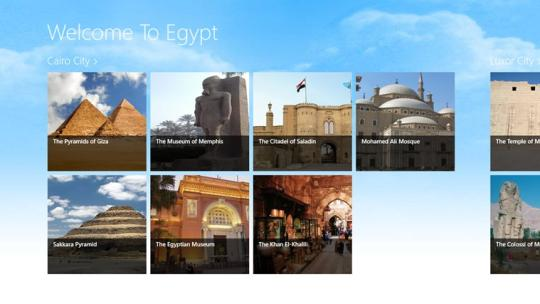 Welcome To Egypt for Windows 8