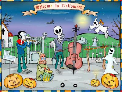 Welcome To Halloween Screensaver