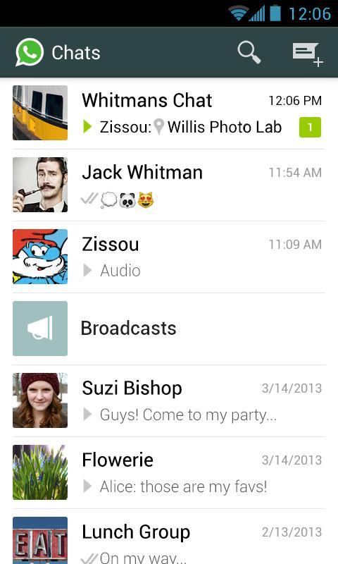 WhatsApp Messenger for Windows PC