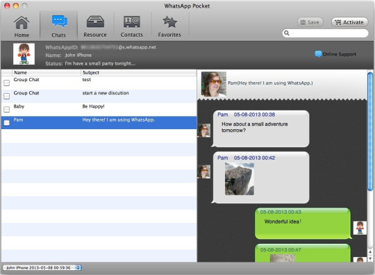 WhatsApp Pocket for Mac