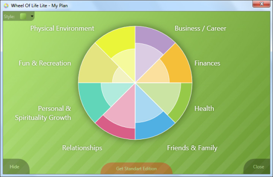 Wheel Of Life Lite