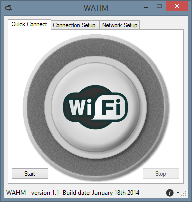 WiFi Ad-hoc Manager