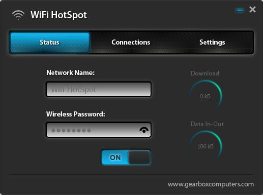 Wifi HotSpot Utility