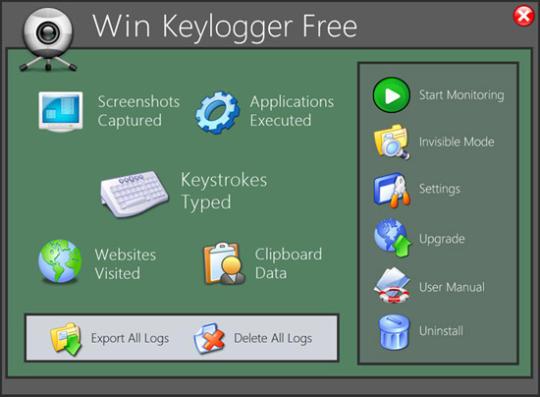 Win Keylogger Free