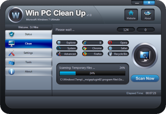 Win PC Cleanup