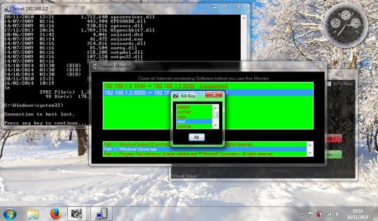 Windows Firewall Console