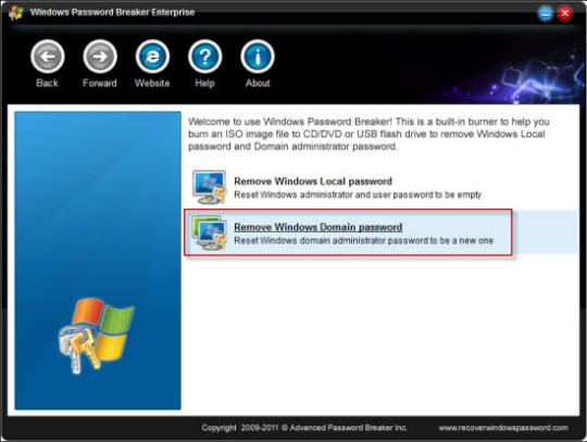 Windows Password Breaker Enterprise