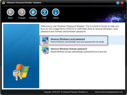 Windows Password Breaker Standard