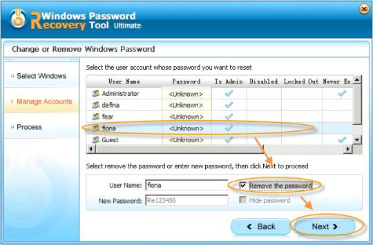 Windows Password Recovery Tool Ultimate