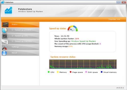Windows Speed Up Masters
