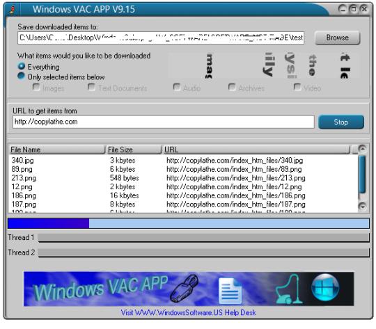 Windows VAC APP