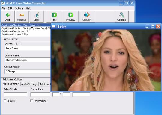 WinFX Free Video Converter