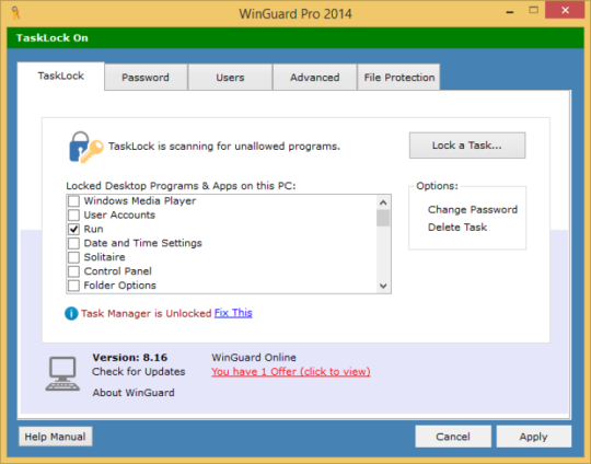 WinGuard Pro 2014