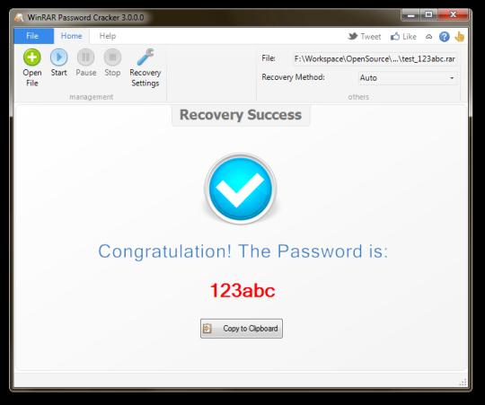 WinRAR Password Cracker