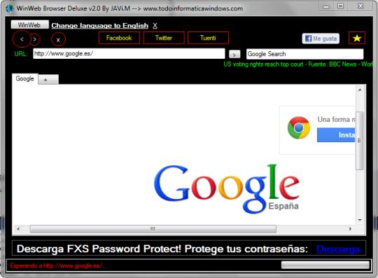 WinWeb Browser Deluxe