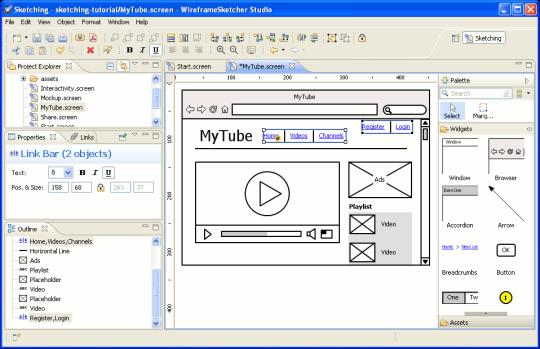 WireframeSketcher Studio