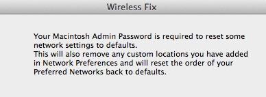 Wireless Fix