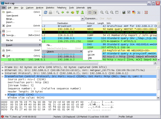 Wireshark U3