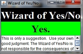Wizard of Yes/No