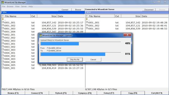 WizardLink File Manager