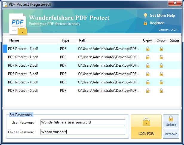 Wonderfulshare PDF Protect