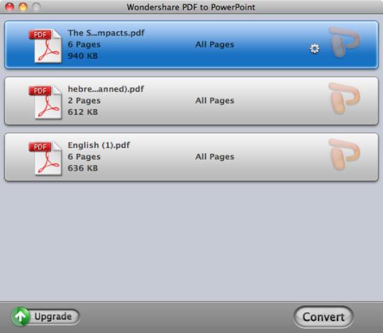 Wondershare PDF to PowerPoint