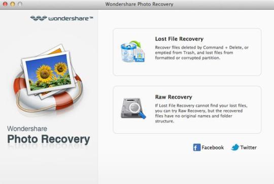 Wondershare Photo Recovery