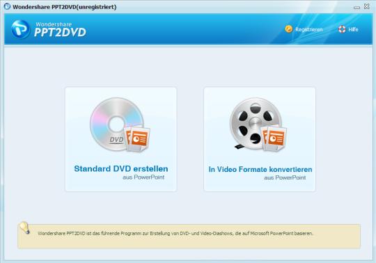 Wondershare PPT2DVD (German)
