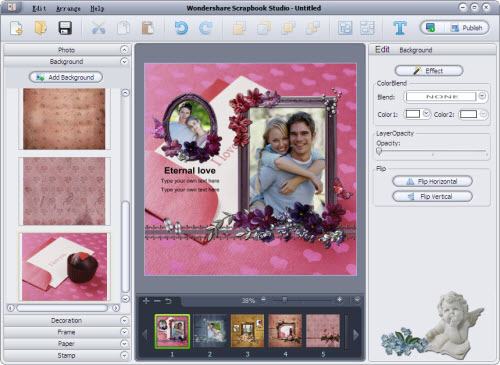 Wondershare Scrapbook Studio