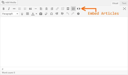 WordPress Embed Articles Plugin