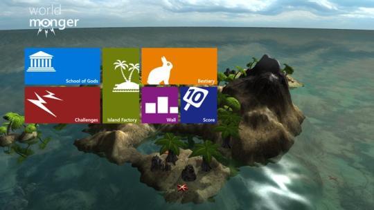 WorldMonger for Windows 8
