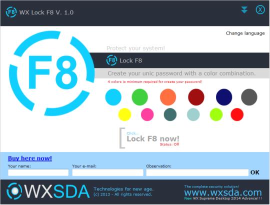 WX Lock F8