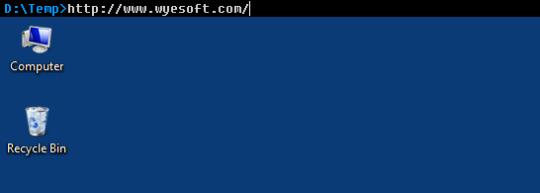 WyeSoft Desktop Console