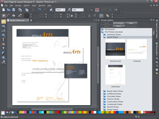 Free Download Xara Page Layout Designer For Windows Desktop Publishing Software