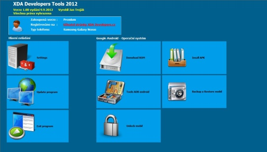 XDA Developers Tools 2012 for Android