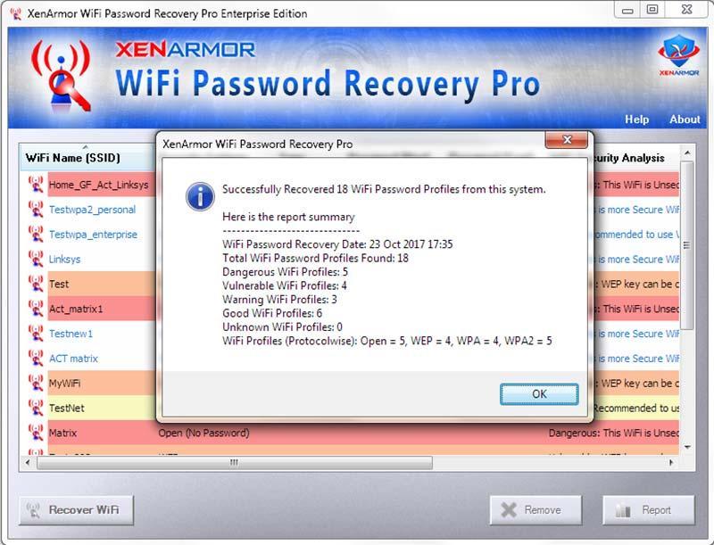 XenArmor WiFi Password Recovery Pro Enterprise Edition