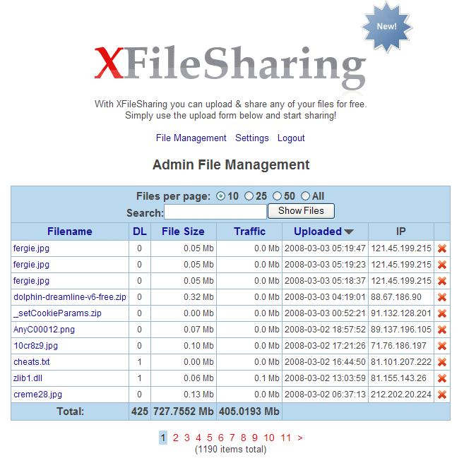 XFileSharing