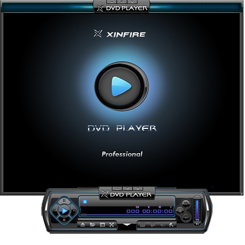 Xinfire DVD Player Professional